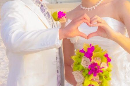 夏の結婚式の演出